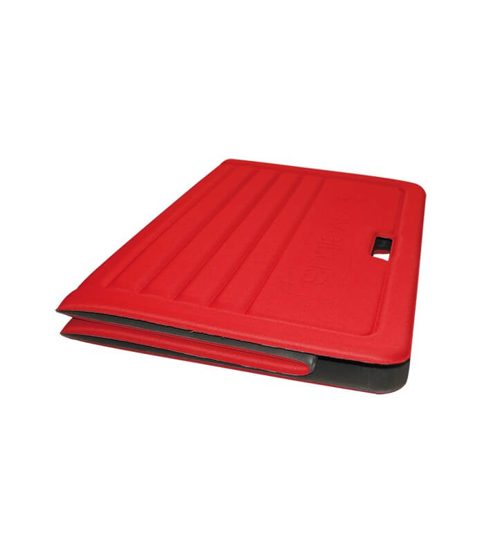 Foldable foam mat red 170x70 cm