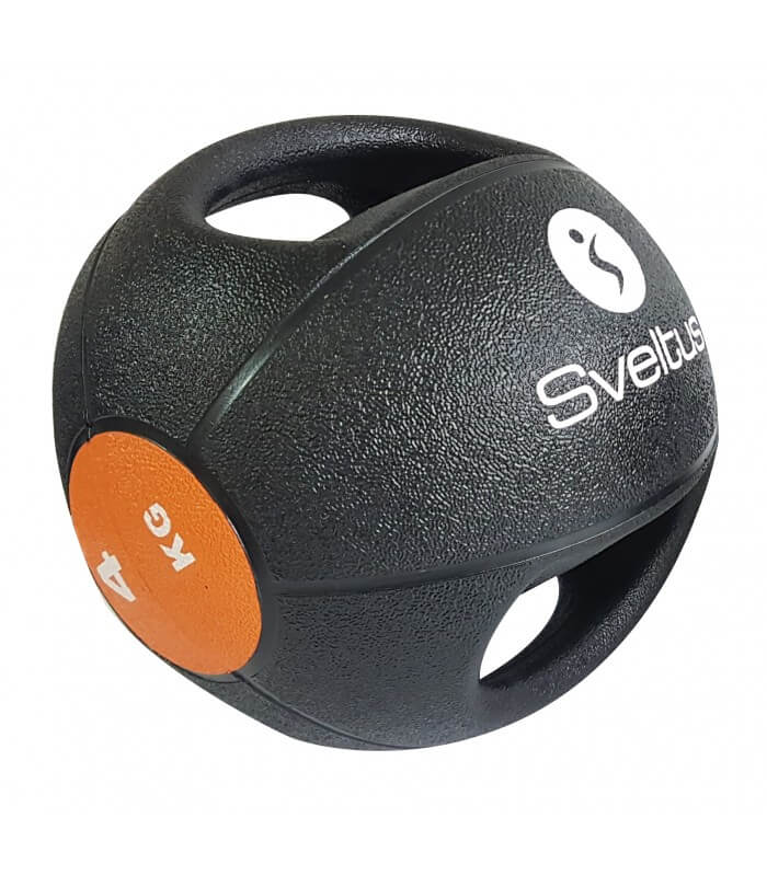Double grip medicine ball 4 kg
