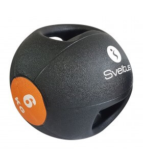 Médecine ball avec poignées 6 kg