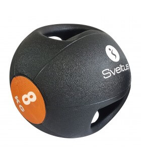 Double grip medicine ball 8 kg