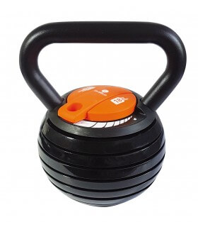 Adjustable kettlebell