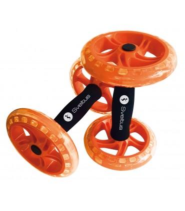 Double Ab wheel orange x2
