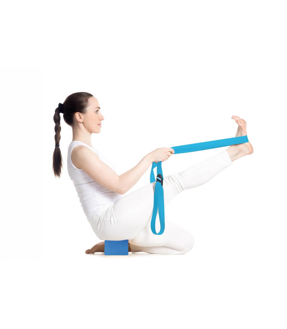 f972e44f77966 Ceinture de Yoga Ceinture de Yoga - Bleu
