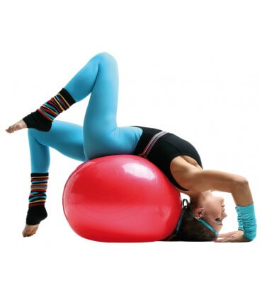 Gymball 65cm rouge