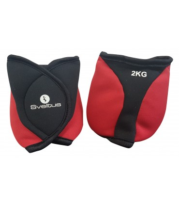 Ankle weighted cuff 2 kg x2
