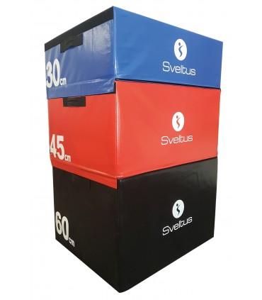 Set plyobox en mousse - 30/45/60 cm