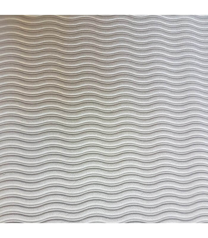 Tapis studio prune/gris 140x60 cm