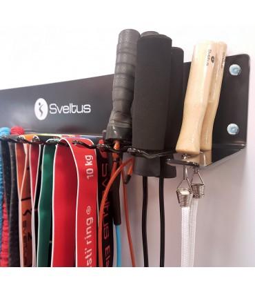 Rack cordes à sauter et élastiques