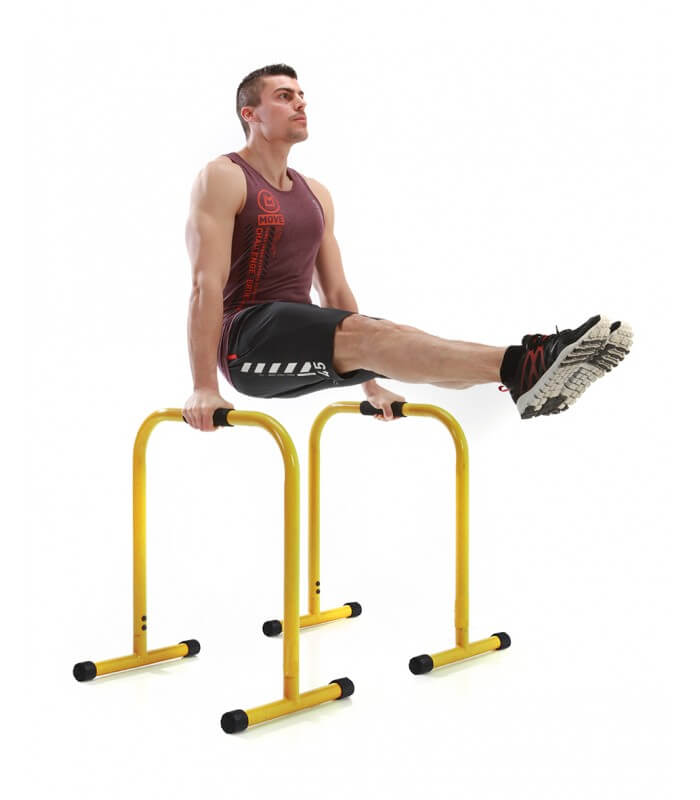 Parallel fitness bar yellow h72 cm x2