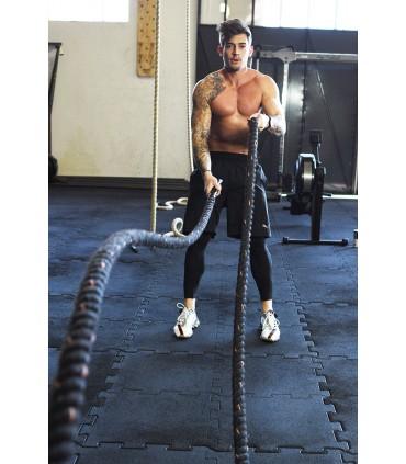 Battle rope hook
