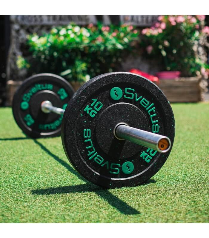 Olympic bumper plate 10 kg x1