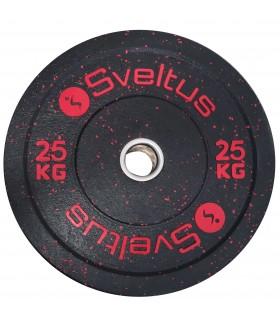 Disque olympique bumper 25 kg x1