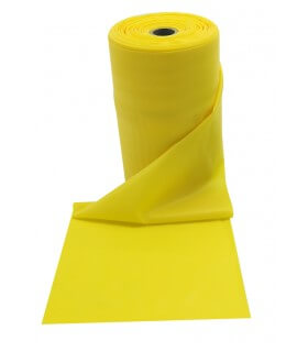 Rouleau fit band light 24m jaune
