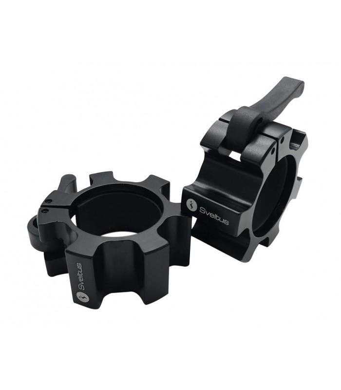Aluminium stop disc black Ø51 mm x2