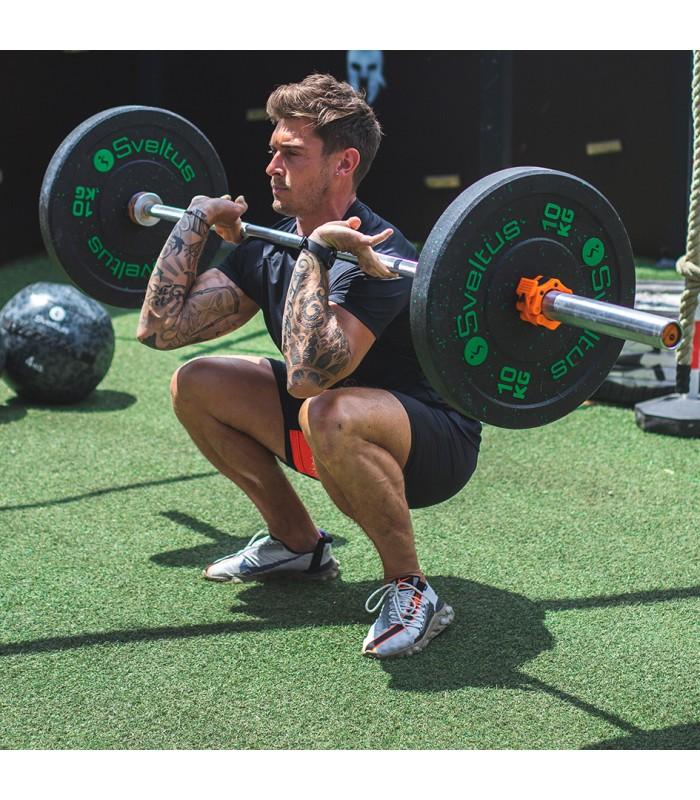 Barre olympique 20kg - orange