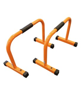 Parallel mini bars 45cm - orange - pair