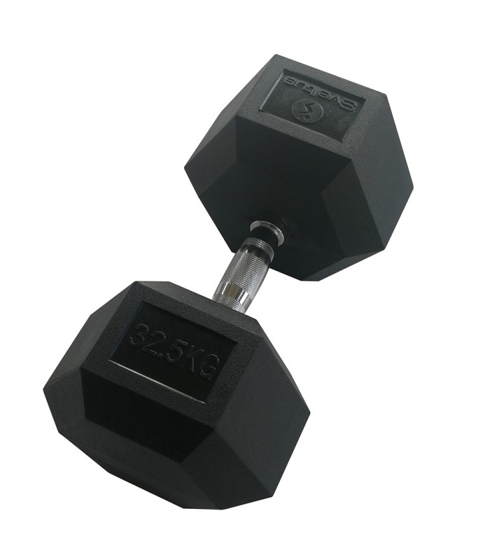 Hexagonal dumbbell 32.5 kg x1