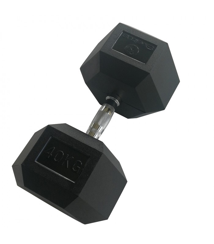Hexagonal dumbbell 40 kg x1