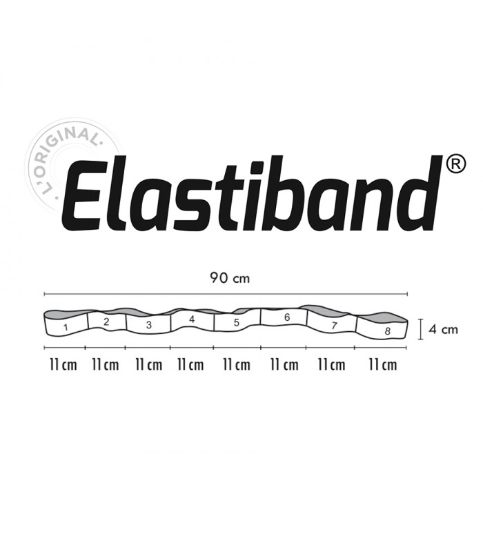 Elastiband black 15 kg bulk