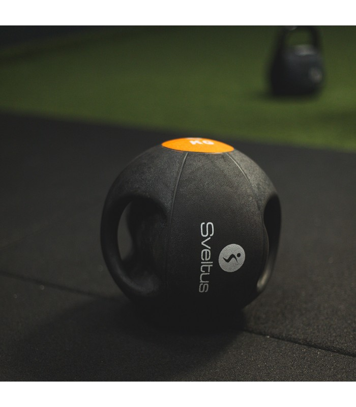 Double grip medicine ball 8 kg