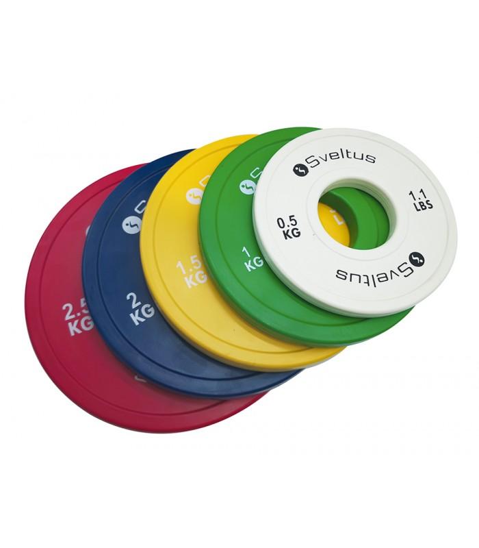Mini disque olympique 0,5 kg x1
