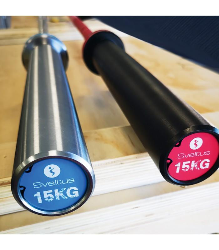 Barre olympique Cérakote 15kg - rose