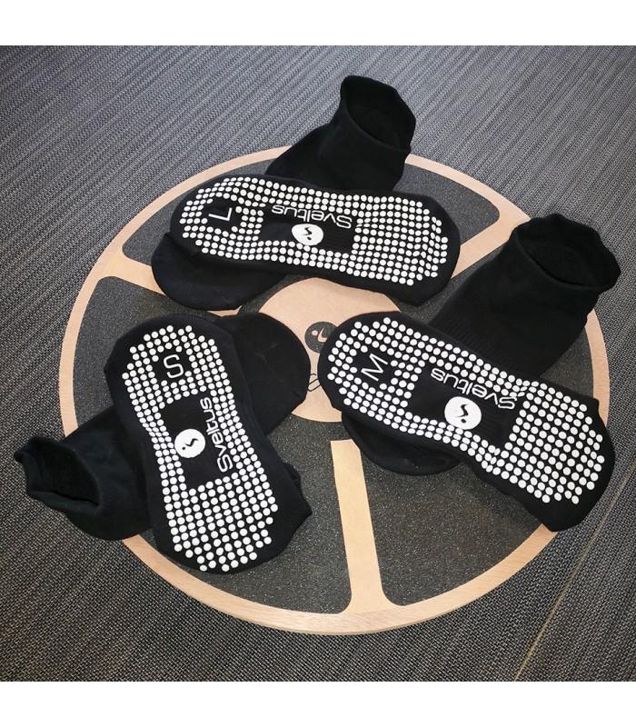 Non slip yoga sock size L x2