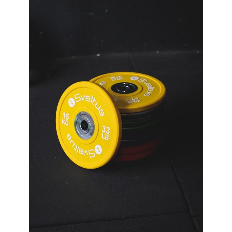 Disque olympique compétition 15 kg x1