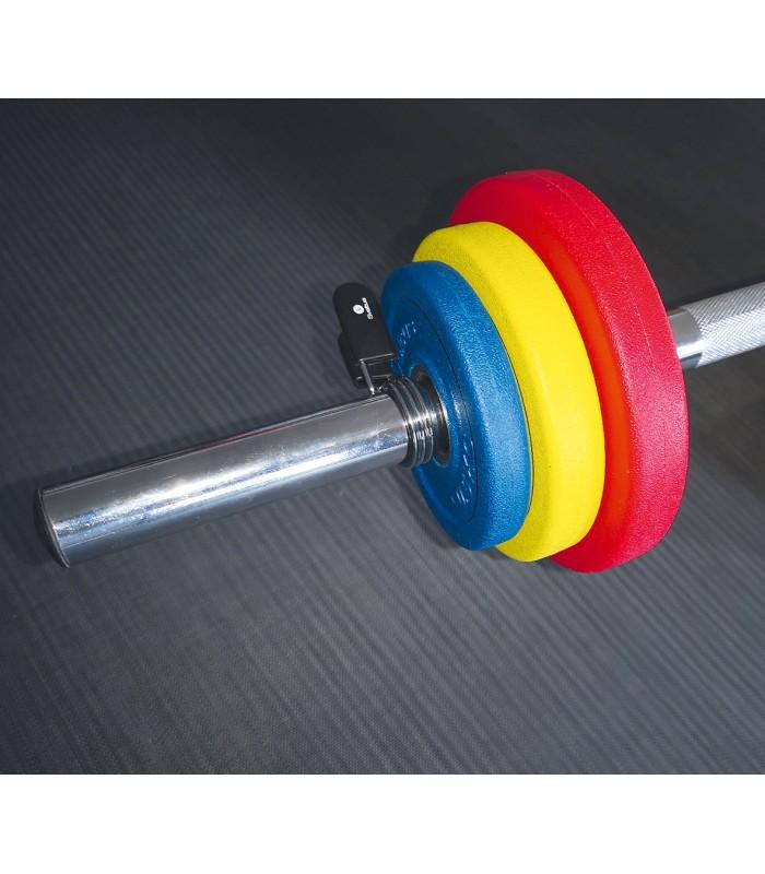 Steel bar + 2 spring collars