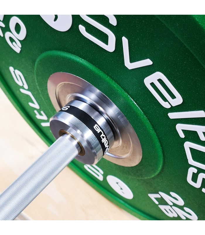 Men's olympic bar 220 cm black