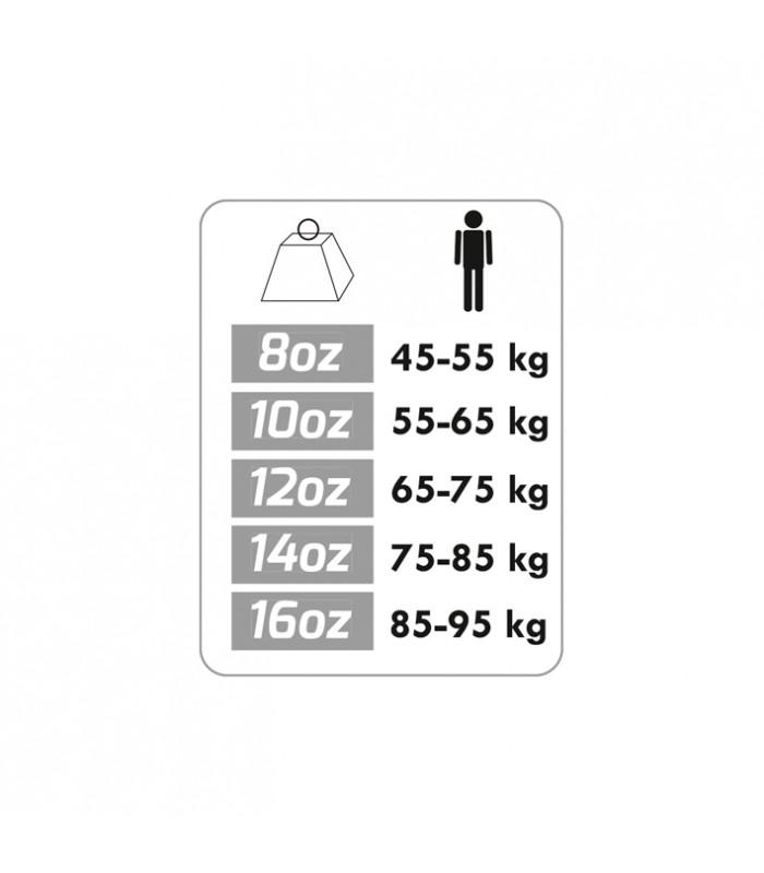 Gant boxe contender taille 12oz x2