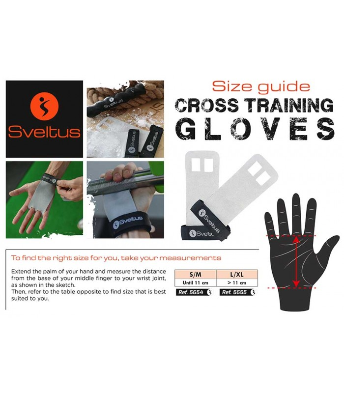 Cross training glove x2