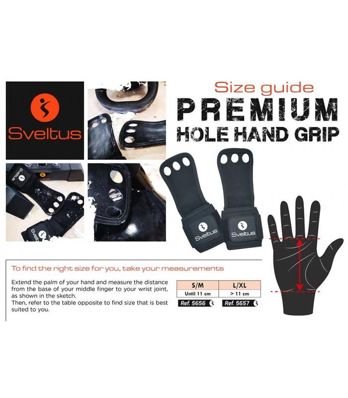 Premium hole hand grip L/XL x2