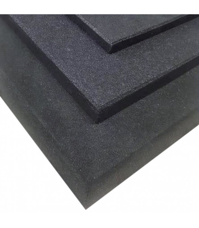 Damping ground mat 100x100x4 cm
