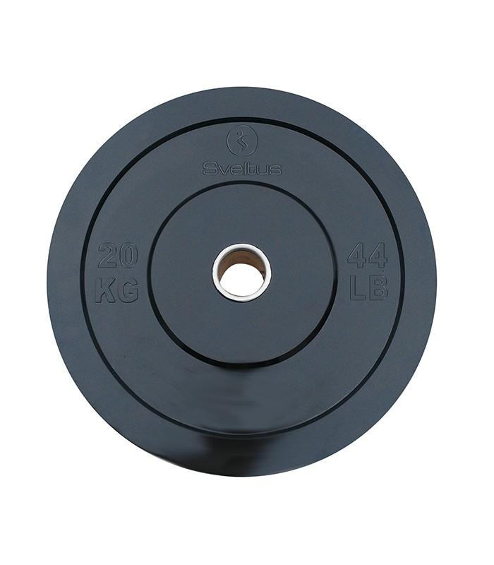 Disque olympique rubber 20 kg x1
