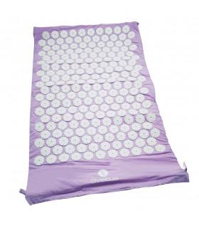 Tapis acupression lilas 75x44 cm
